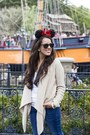 Nordstrom-jeans-target-sweater-ray-ban-sunglasses-target-flats