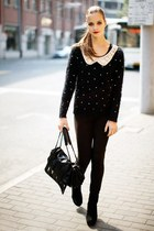 black OASAP jumper