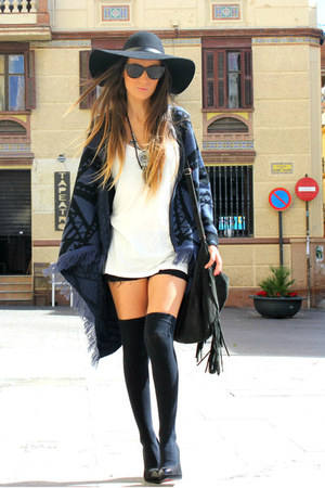 navy Sheinside cardigan