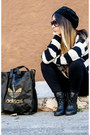 Black-primark-boots-black-h-m-divided-hat-black-calzedonia-leggings