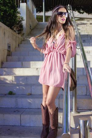 bubble gum Choies dress