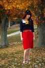 Modcloth-blouse-urban-outfitters-belt-vintage-skirt-urban-outfitters-heels
