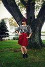 Urban-outfitters-boots-modcloth-skirt-old-navy-blouse