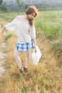 Beige-sfera-shirt-blue-stradivarius-top-beige-calzedonia-tights-beige-diy-