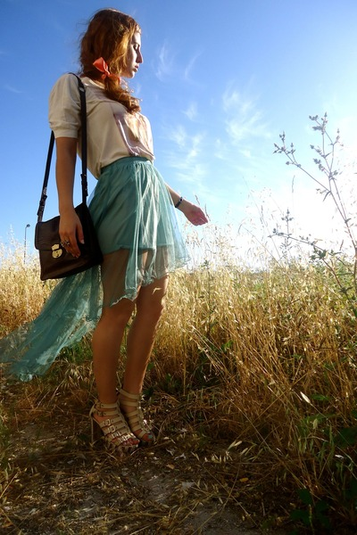 aquamarine Yesstyle skirt
