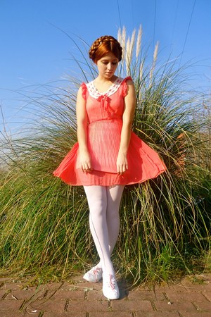 salmon Club Couture dress