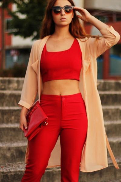 lavish alice top - lavish alice pants - Zara heels