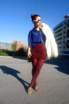 Matiko Lee loafers - Zara coat - beginning boutique ring - Number A ring