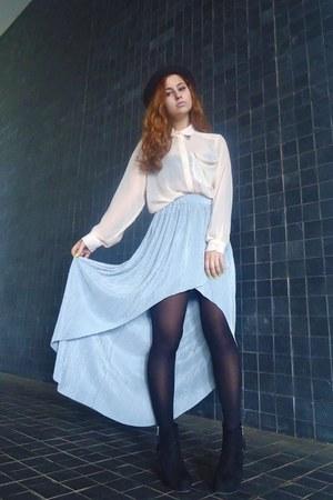 silver Love skirt