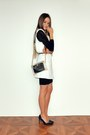 Black-asos-dress-white-sheinside-blazer