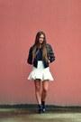 White-asos-skirt