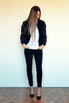 black lindex jacket