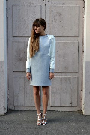 heather gray asos dress
