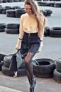 Navy-monki-skirt