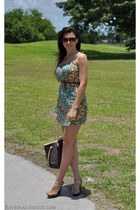 Johnny Martin dress - Louis Vuitton bag - Gucci sunglasses - michael antonio wed