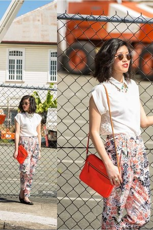 orange orange bag kate spade bag - burnt orange vintage sunnies asos sunglasses