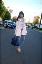 light pink Target coat