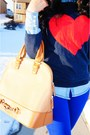Blue-forever-21-jeans-navy-heart-forever-21-sweater