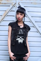 black SOURPUSS CLOTHING vest
