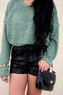 Sequin-shorts-forever-21-shorts