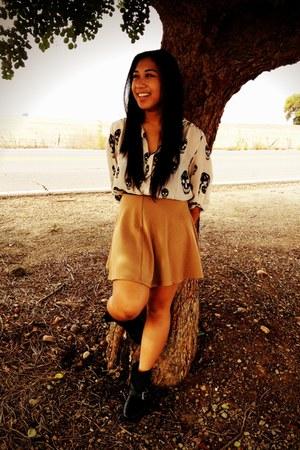 circle skirt Forever 21 skirt