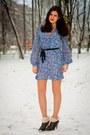 Rieker-boots-miss-selfridge-dress