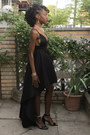 Black-high-low-gojane-dress