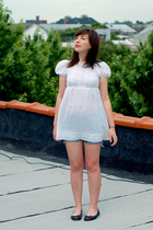 vintage dress - Old Navy shorts - shoes