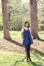 Vintage-dress-jcrew-shirt