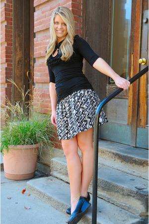 forever 21 blouse - forever 21 skirt