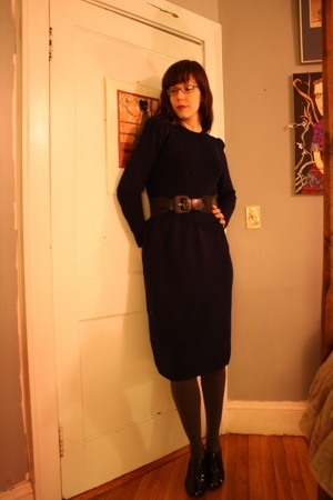 80's sweater dress