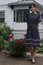 vintage dress - Cant remember shoes - gift accessories - gift accessories