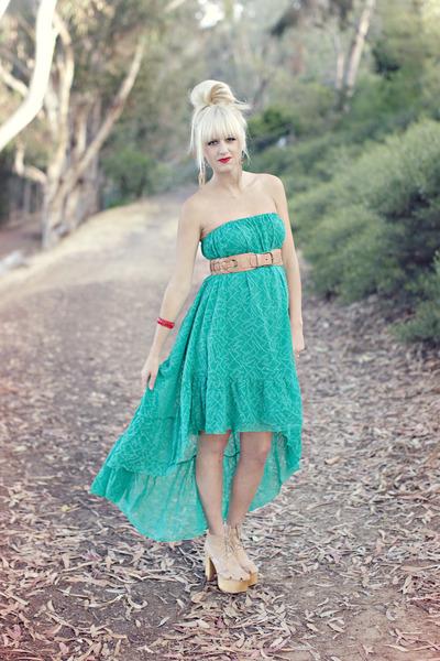 free people dress - Jeffrey Campbell heels