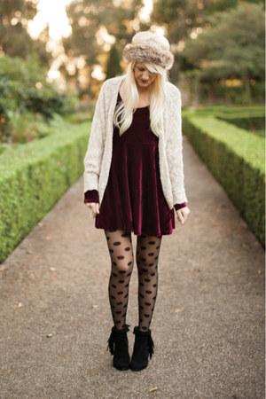 sam edelman boots - Afends dress