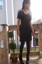 beaded pearl dressKae Yoshida - Marshalls tights - joyce leslie boots - f21 brac