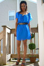 Topshop-dress-vintage-belt-vintage-hat-moms-vintage-shoes