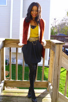 Linda AllardEllen Tracy jacket - thrifted scarf - F21both shirt - f21 skirt - f2
