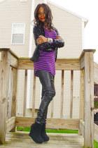 Target shirt - vintage cardigan - Target pants - Topshop shoes