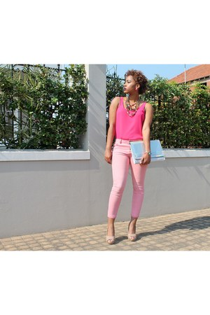 Jay Jays jeans - Mr Price purse - YDE heels - Legit blouse