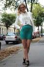 Off-white-zara-blazer-aquamarine-uo-skirt-off-white-zara-blouse