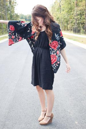 H&M scarf - Target dress - f21 wedges