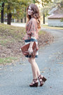 Sweater-f21-dress-fringe-h-m-bag-target-sandals-kimono-f21-cardigan