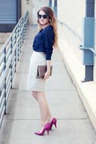 f21 shoes - BCBG bag - Pandora bracelet - H&M blouse