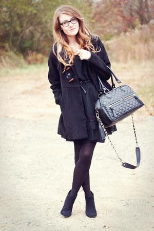 theIT bag - Forever21 shoes - VonMaur dress - Forever21 coat