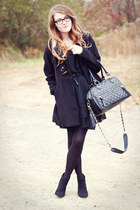 theIT bag - Forever21 shoes - VonMaur dress - Forever21 coat