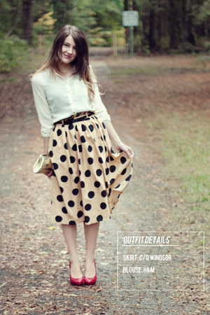 windsor skirt - H&amp;M blouse
