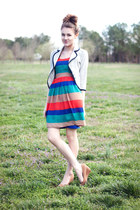 striped bb dakota by jack covet dress
