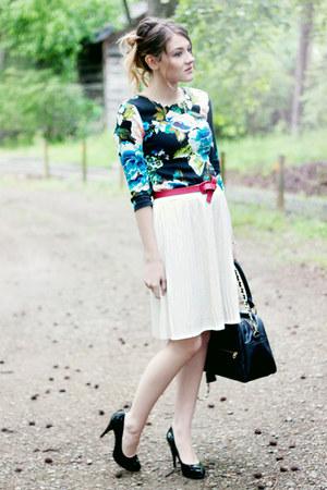 Steve Madden heels - H&M dress - theIT bag