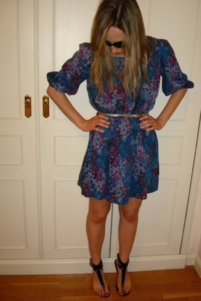 H&M dress - Zara shoes - Massimo Dutti belt