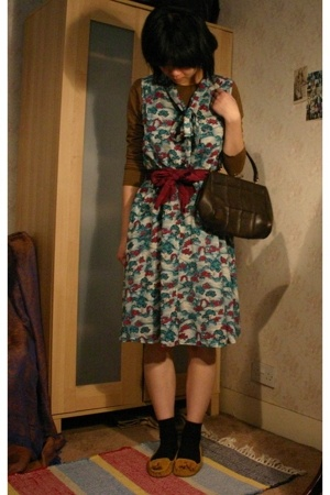 H&M dress - vintage from Ebay purse - Urban Outfitters shoes